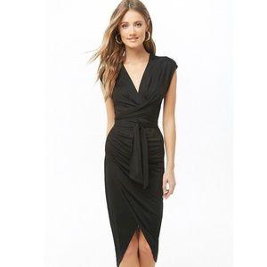 Surplus Wraparound Midi Dress